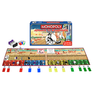 Monopoly Advance to Boardwalk Board Game Ages 8+ Years Product Image