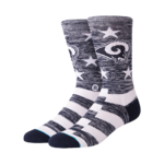 Stance Los Angeles Rams Banner Socks Product Image