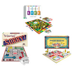 Classic Game Pack - Parcheesi Game of Life and Sorry!