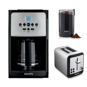 Savoy Programmable Digital 12-Cup Coffee Maker & Accessories Package Product Image