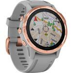 fenix 6S Multisport GPS Smartwatch (42mm, Sapphire, Rose Gold-Tone / Powder Gray Band) Product Image