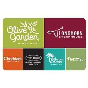 Darden Restaurants eGift Card $50 Product Image