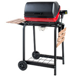 Deluxe Electric Cart with 2 Side Shelves Product Image