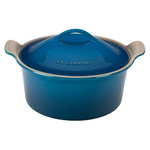 3qt Heritage Stoneware Covered Round Casserole Marseille Product Image