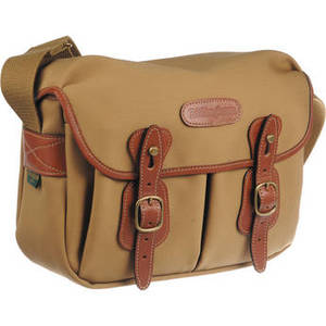 Hadley Shoulder Bag Small (Khaki with Tan Leather Trim) Product Image