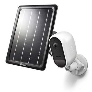 Wire-Free 1080p Security Camera w/ Solar Charging Panel & Outdoor Stand Product Image