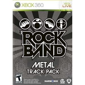 Rock Band Metal Track Pack Product Image