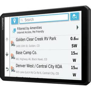 """8"""" RV 890 GPS Navigator Product Image"""