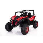 Red Wild Cross UTV 12V Two Seater with EVA Wheels Product Image