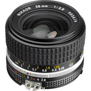 NIKKOR 28mm f/2.8 Lens Product Image