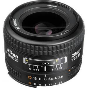 AF NIKKOR 28mm f/2.8D Lens Product Image