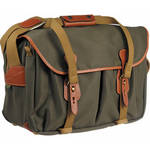 445 Shoulder Bag (Sage FibreNyte with Tan Leather Trim) Product Image