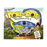 Poke-A-Dot: Dinosaurs A to Z Book Ages 3+ Years Product Image
