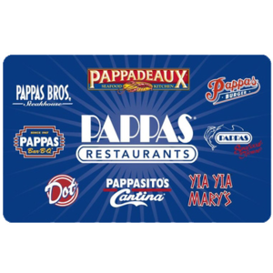 Pappas Dining Gift Card $50 Product Image