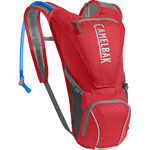 Rogue Hydration Pack Cycling - Red/Silver Product Image