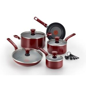 Excite Non-Stick 14-Piece Cookware Set - Blue Product Image