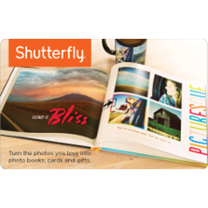Shutterfly eGift Card $25 Product Image