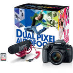 EOS Rebel T7i DSLR Camera with 18-55mm Lens Video Creator Kit Product Image