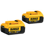 20V MAX Premium XR 4.0Ah Lithium-Ion Battery 2-Pack Product Image
