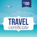 Online-Rewards travel voucher $100