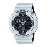 Mens Mens G-Shock Ana-Digi White & Black Watch Black Dial Product Image