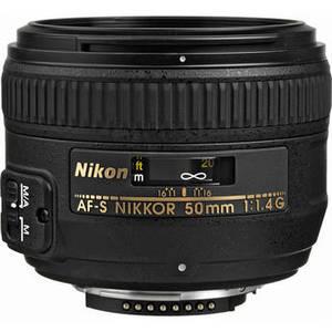 AF-S NIKKOR 50mm f/1.4G Lens Product Image