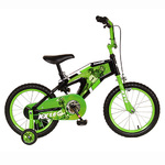 "Monocoque 16"" Boys Bike  Black/Green Product Image"