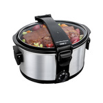 7 Qt. Stay or Go Portable Slow Cooker Product Image