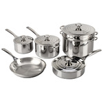 10pc Stainless Steel Cookware Set Product Image