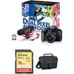 EOS Rebel T7i DSLR Camera with 18-55mm Lens Video Creator and Accessory Kit Product Image