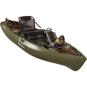 Topwater 106 PDL Fishing/Hunting Pedal-Driven Kayak - Olive Product Image
