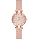 Ladies Annadale Rose Gold-Tone & Blush Leather Strap Watch Blush Dial Product Image