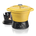 1.5qt Party Crock Slow Cooker Yellow Product Image