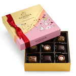GODIVA® 9 Piece Valentines Day Assorted Gift Box Product Image