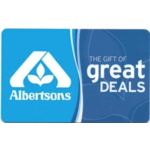 Albertsons Gift Card $20 Product Image