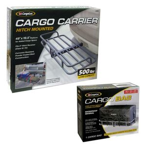 CargoLoc Cargo Bag for Hitch Mount Carrier plus CargoLoc Hitch Mounted Cargo Bag - 69998 Product Image