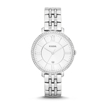 Ladies Jacqueline Stainless Steel Watch Silver Dial Product Image