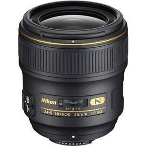 AF-S NIKKOR 35mm f/1.4G Lens Product Image