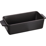 "Cast Iron 9"" Loaf Pan Matte Black Product Image"