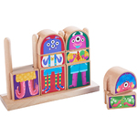 Mix-and-Match Monster Blocks Ages 18+ Months Product Image