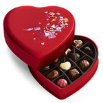 GODIVA® 14 Piece Valentines Fabric Heart Gift Box Product Image