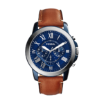 Fossil Men's Grant Chronograph Leather Watch Product Image