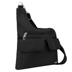 Anti-Theft Classic Crossbody Bag Black Product Image