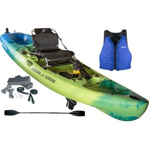 Malibu PDL Recreational Pedal-Driven Kayak & Accessories Package - Ahi Product Image