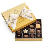 GODIVA 19 Piece Gold Gift Box w/ Thank You Ribbon Product Image
