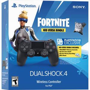 Fortnite Neo Versa Dualshock 4 Wireless Controller Bundle (Jet Black) Product Image