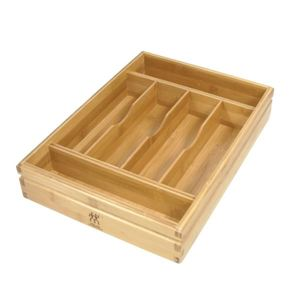 Bamboo Flatware Tray Product Image