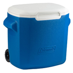 28 Qt Wheeled Cooler Blue Product Image