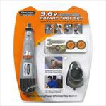 Chicago Power Tool 9.6 Cordless Rotary Tool Set Product Image