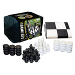 2-in-1 Jumbo Chess & Checkers Set Product Image